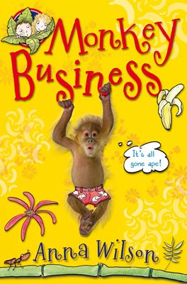 Book cover for Monkey Business
